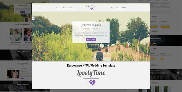 Lovely Time (HTML Template)